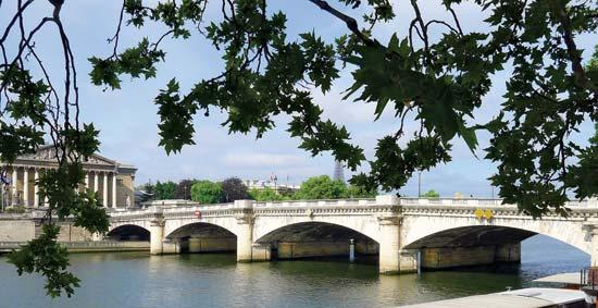 Neuilly Bridge – Jefferson Enters Paris