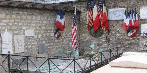 Picpus Cemetery- La Fayette's grave